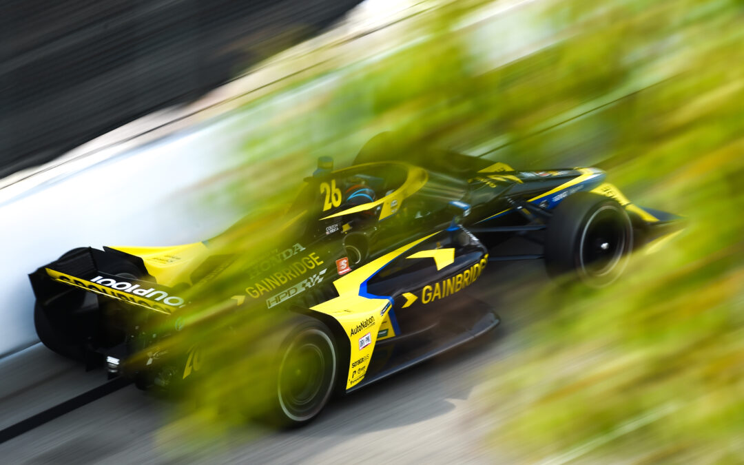 Herta Leads The Way In Saturday Practice