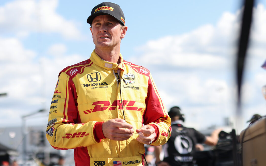 Andretti Autosport And DHL Pay Tribute To The Departing Ryan Hunter-Reay