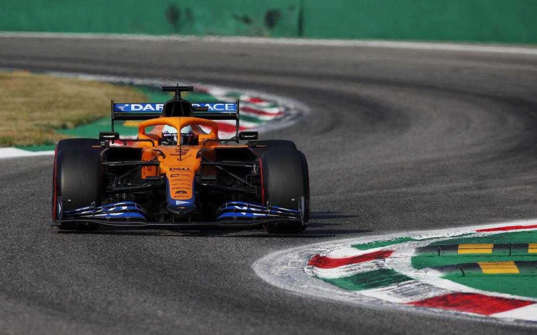 Sensational Ricciardo Leads McLaren 1-2 In Monza