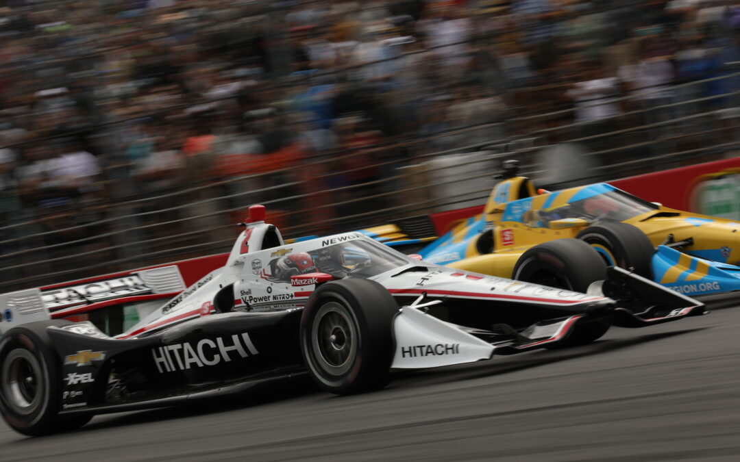 A Good Day For The Hitachi Chevrolet