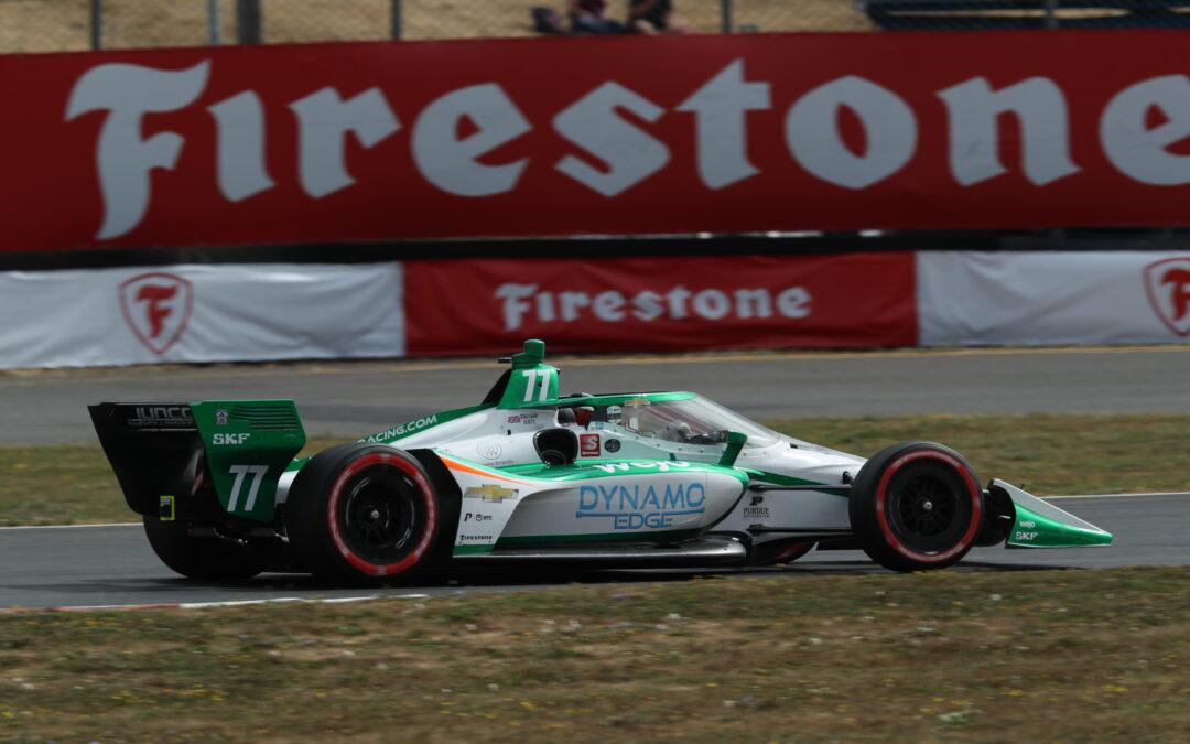 Ilott Completes First IndyCar Race