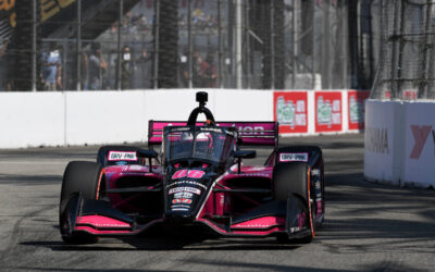 Castroneves Starts Third In Long Beach