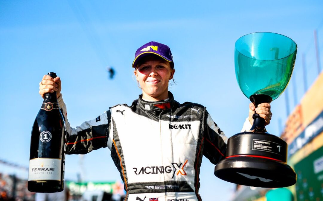 Powell Takes Victory In Zandvoort To Tie The Points Lead With Chadwick