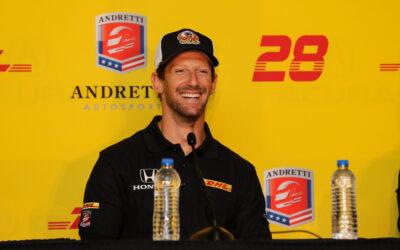 Grosjean Gets Settled In At Andretti Autosport