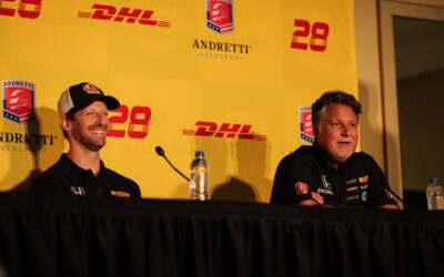 Boisson Joins Grosjean At Andretti