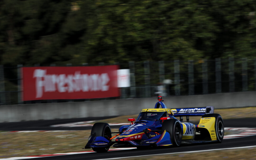A Strong Day In Portland For Rossi
