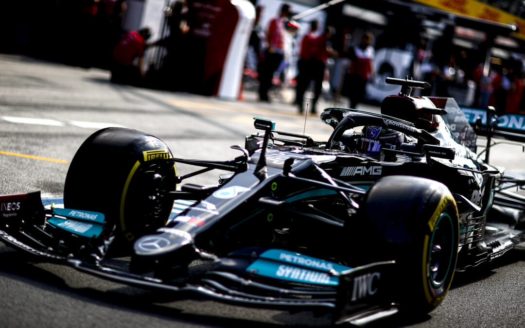 Hamilton Stops On Track In Second Practice