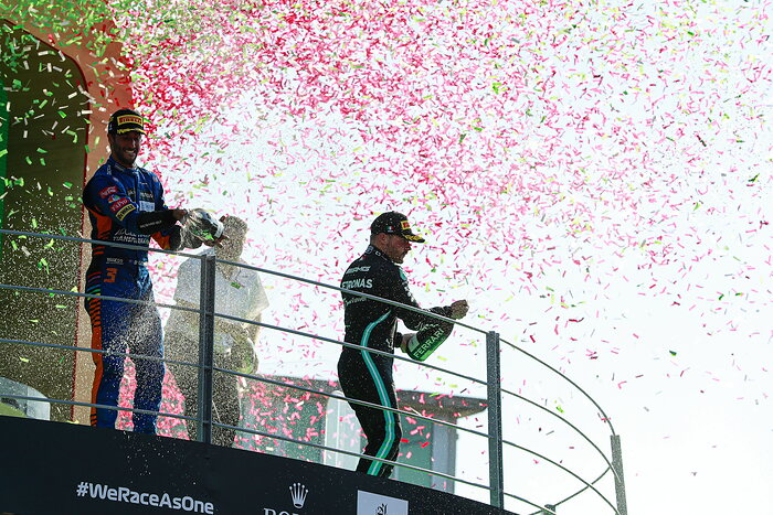 A Great Day For Bottas In Monza