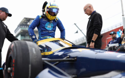Johnson Feels More Confident And Comfortable In The Car Following Indy Test