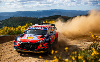 Dani Sordo And Oliver Solberg To Share A Third Hyundai Rally1 Car In 2022